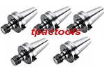 5PC BT40 ER16 PRECISION COLLET CHUCK Tenth Accuracy