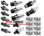 BT40 TOOLING STARTER PACKAGE ER32 ER16 COLLET SET END MILL HOLDER DRILL CHUCK FACE MILL NEW